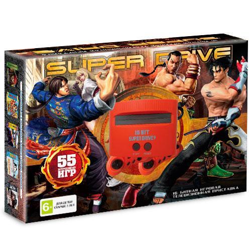 16 bit Приставка Sega Super Drive Tekken (55 игр)