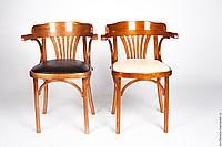 """Кресло деревянное с обивкой """"Классик Люкс"""" Б 6072-2 (тон и обивка на выбор)"""
