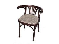 """Кресло мягкое из дерева """"Марио Люкс"""" (Б 1656-01-2) краситель 325"""
