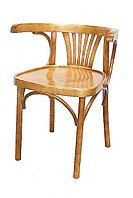 Кресло из дерева с подлокотнииками Марио Люкс (Б 1656-2) краситель 311