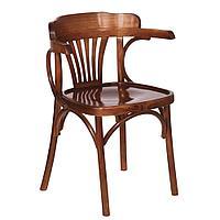 """Кресло из дерева """"Роза"""" (КМФ 120-2), цвет на выбор"""