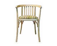 """Кресло деревянное венское с мягким сидением """"Алекс Люкс"""" (КМФ 250-01-2), краситель 327"""