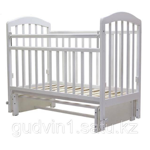Детская кроватка Лира-5 цвет белый, Топотушки 00-75528