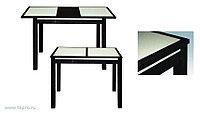 Стол обеденный Жасмин 950х680 с КАМНЕМ 680х950(1250)х750
