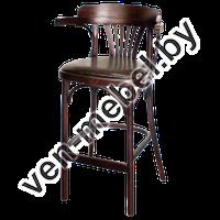 Кресло детское деревянное высокое для кормления с мягким сидением Apollo Lux (КМФ 305-01-2)