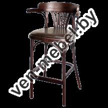 Кресло деревянное высокое с мягким сидением Apollo Lux (КМФ 305-01-2) - фото 1