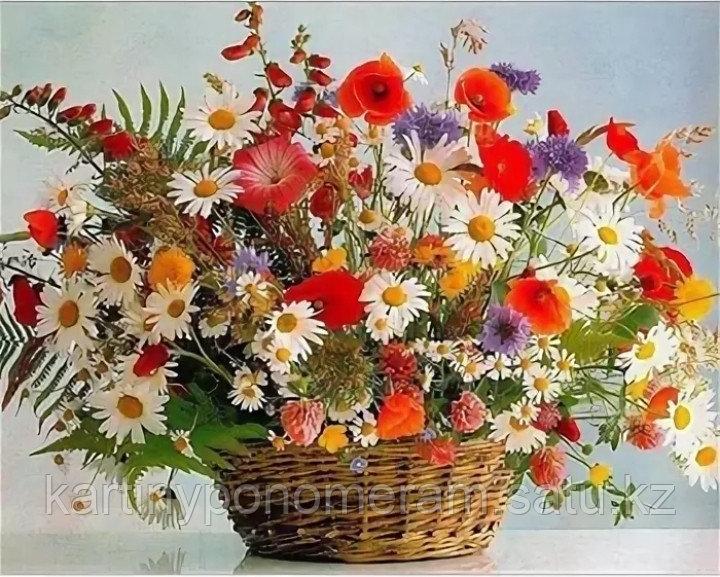 """Картины по номерам  """"Полевые цветы"""""""