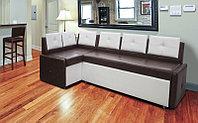 """Кухонный угловой диван """"Визит-2"""" со спальным местом"""