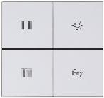 4 кнопочная интеллектуальная панель управления