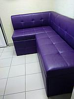 """Кухонный угловой диван """"Лорд-2 ст."""" с нишами для хранения"""