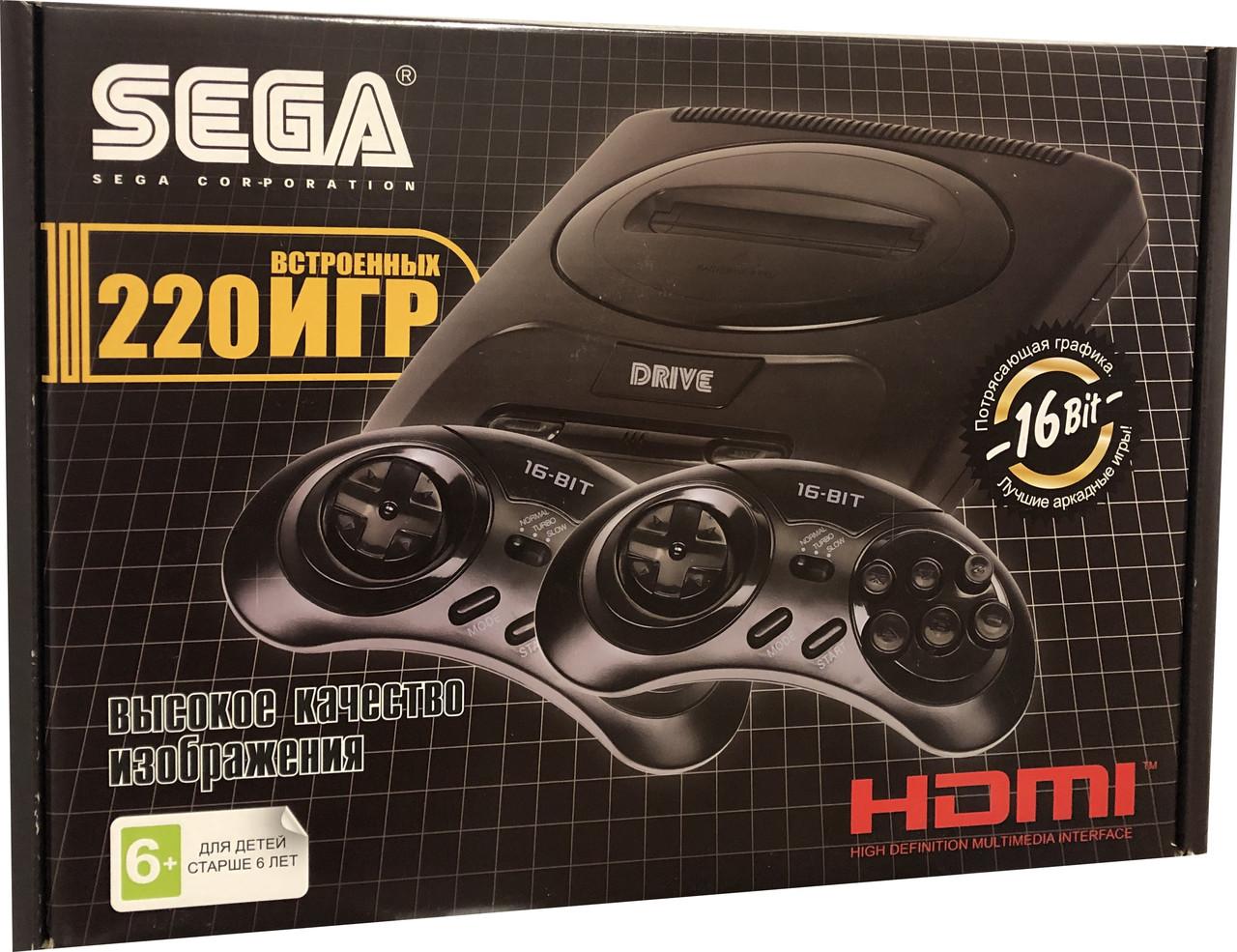 Игровая приставка SEGA Super Drive 2 Classic HDMI 220игр
