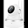 Внутренняя поворотная IP камера с микрофоном и динамиком