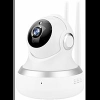 Внутренняя поворотная IP камера с микрофоном и динамиком , фото 1
