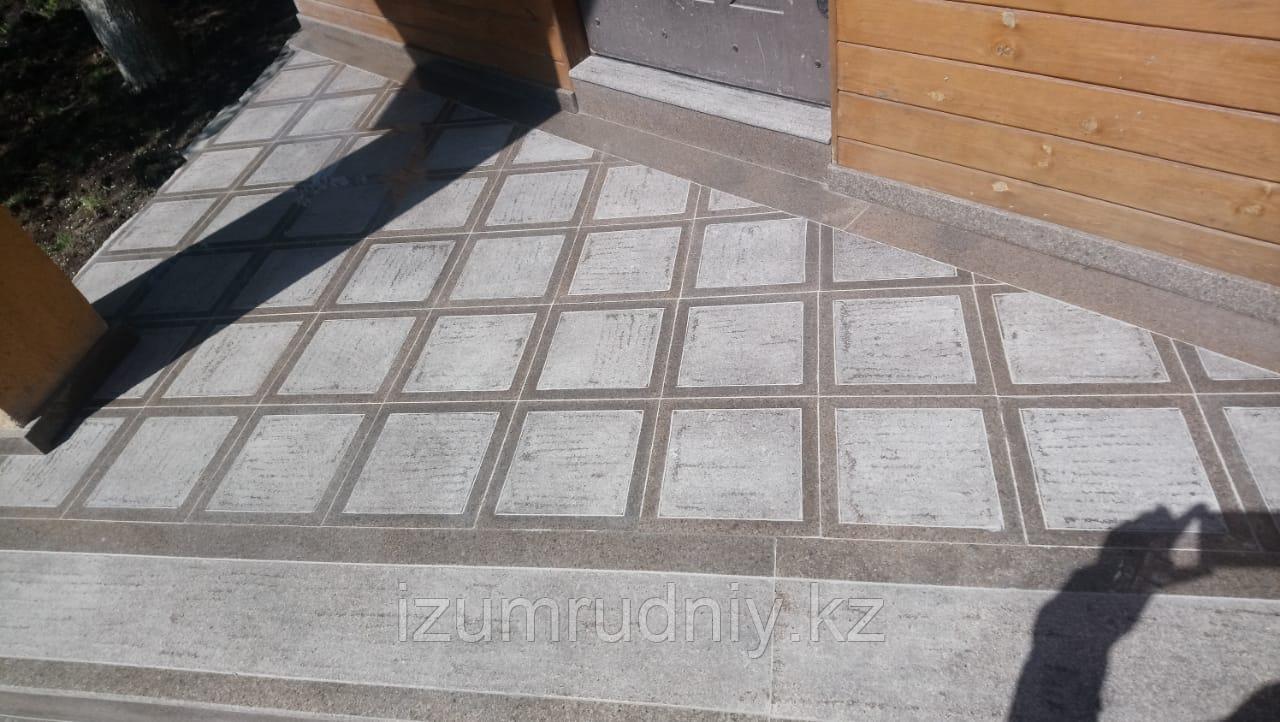 Тротуарная плитка с антискользящим эффектом