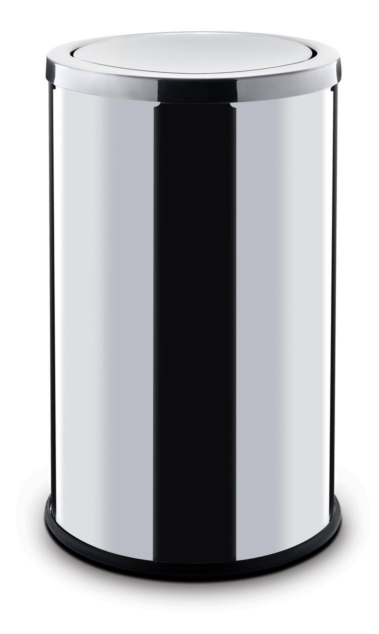 Контейнер для мусора ALDA с вращающейся крышкой 45 литров серия SWING (Глянцевая)