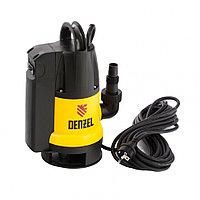 Дренажный насос DP800A, 800 Вт, подъем 5 м, 13000 л/ч, Denzel, 97219