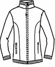 Термокуртка для фигурного катания ФКР 7.04 (Vuelta) FENIX ST - фото 2