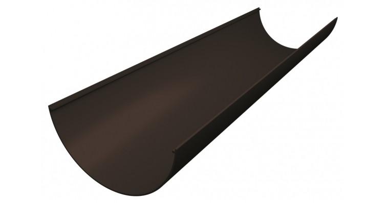 Желоб ПВХ Grand Line 3 М коричневый