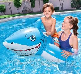 """Надувной плотик для купания на море, в бассейне """"Голубая Акула"""".Алматы"""
