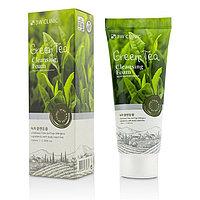 Пенка для лица с экстрактом зеленого чая 3W Clinic Green Tea Pure Natural Cleansing Foam 100ml.