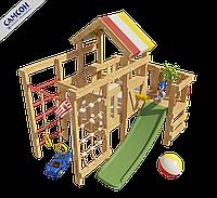 Детская игровая кровать-чердак Соник, фото 1