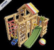 Детская игровая кровать-чердак Соник