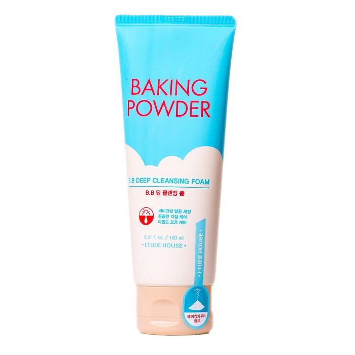 Пенка для умывания Etude House Baking Powder Pore Cleansing Foam 160ml.