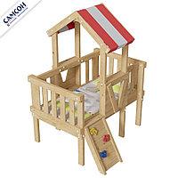 Детская игровая кровать-чердак Базз, фото 1