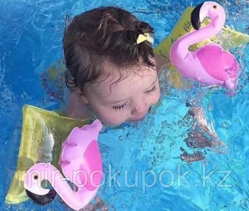 """Детские надувные нарукавники для купания на море, в бассейне """"Фламинго"""".Алматы"""
