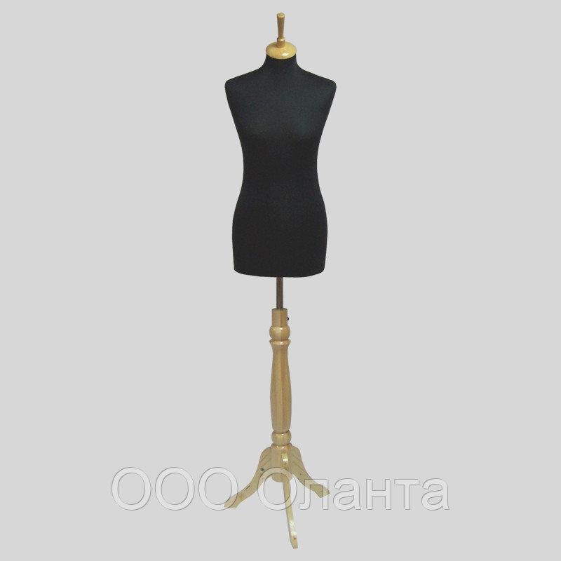 Манекен портновский для шитья женский (р 42-44) твердый ппу