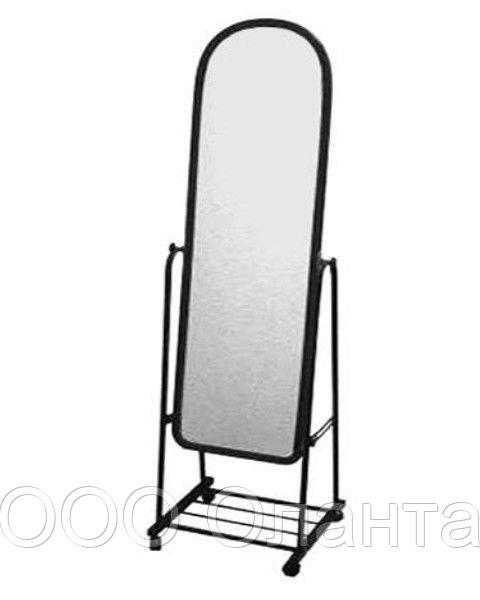 Зеркало напольное на колесах (380х1500 мм) арт. А38