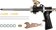 """Пистолет для монтажной пены, цельнометаллический, """"SUPER-KRAFT"""", KRAFTOOL"""