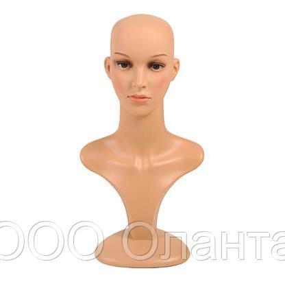 Голова женская демонстрационная с макияжем арт. Т2