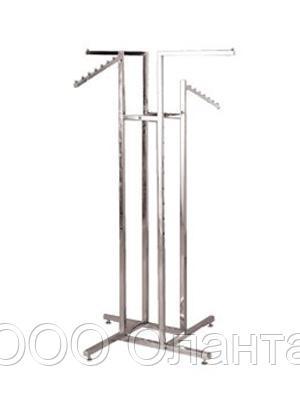 Вешало-стойка комбинированная четырехсторонняя арт. E4W-CD