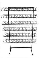 Стойка торговая универсальная 6 полок с наклонным сегментом арт. СУ1