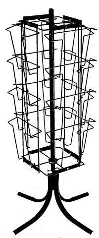 Стойка настольная четырехсторонняя для прайс-листов на 16 карманов формат А4 арт. СБ4-16