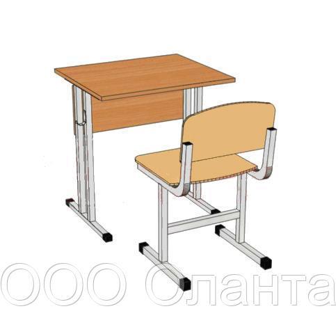 Комплект школьной мебели одноместный арт. КУ-1