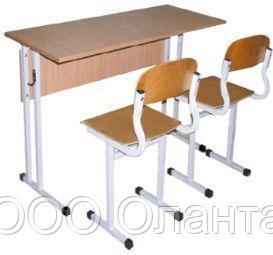 Комплект школьной мебели двухместный арт. КУ-2