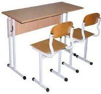 Комплект школьной мебели двухместный арт. КУ-2, фото 1