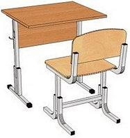 Комплект школьной мебели одноместный растущий арт. КУр-1