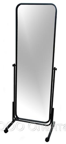 Зеркало напольное на колесах (435х1550 мм) черный арт. MGM3140B