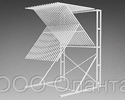 Стойка-экспозитор для ковров на 20 мест (2200х2220х3300 мм) арт. СК5