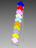Стойка-экспозитор под керамогранит на 10 ячеек арт. ЭКП1