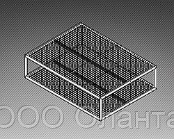 Стол-подиум для ковров (2000х1250х600 мм) арт. СК1