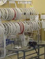 Стеллаж с барабанами под кабельную продукцию (1100х700х2500 мм) арт. СК8