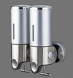 Дозатор (диспенсер) двойной для жидкого мыла, фото 8