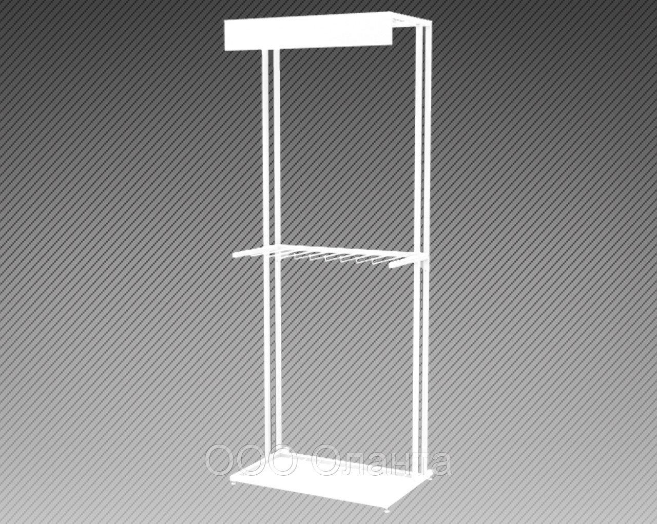 Стеллаж погонажный вертикального хранения арт. СПГ