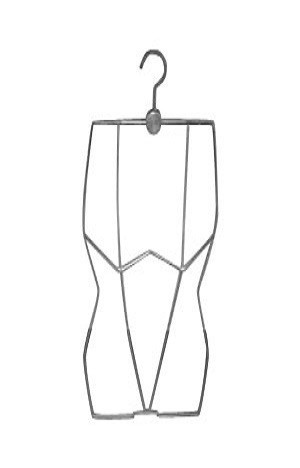 Вешалка контурная для нижнего белья и купальников арт. WS057