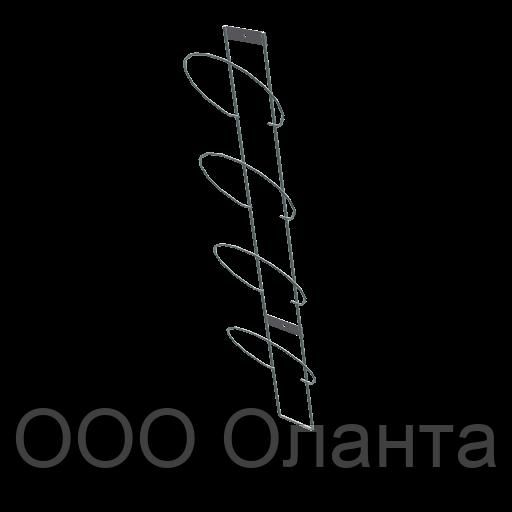 Полоса для шапок настенная 4 элемента арт. СШС