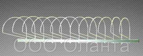 Экспозитор для шапок 10 элементов (L-600 мм) арт. ЭШС10